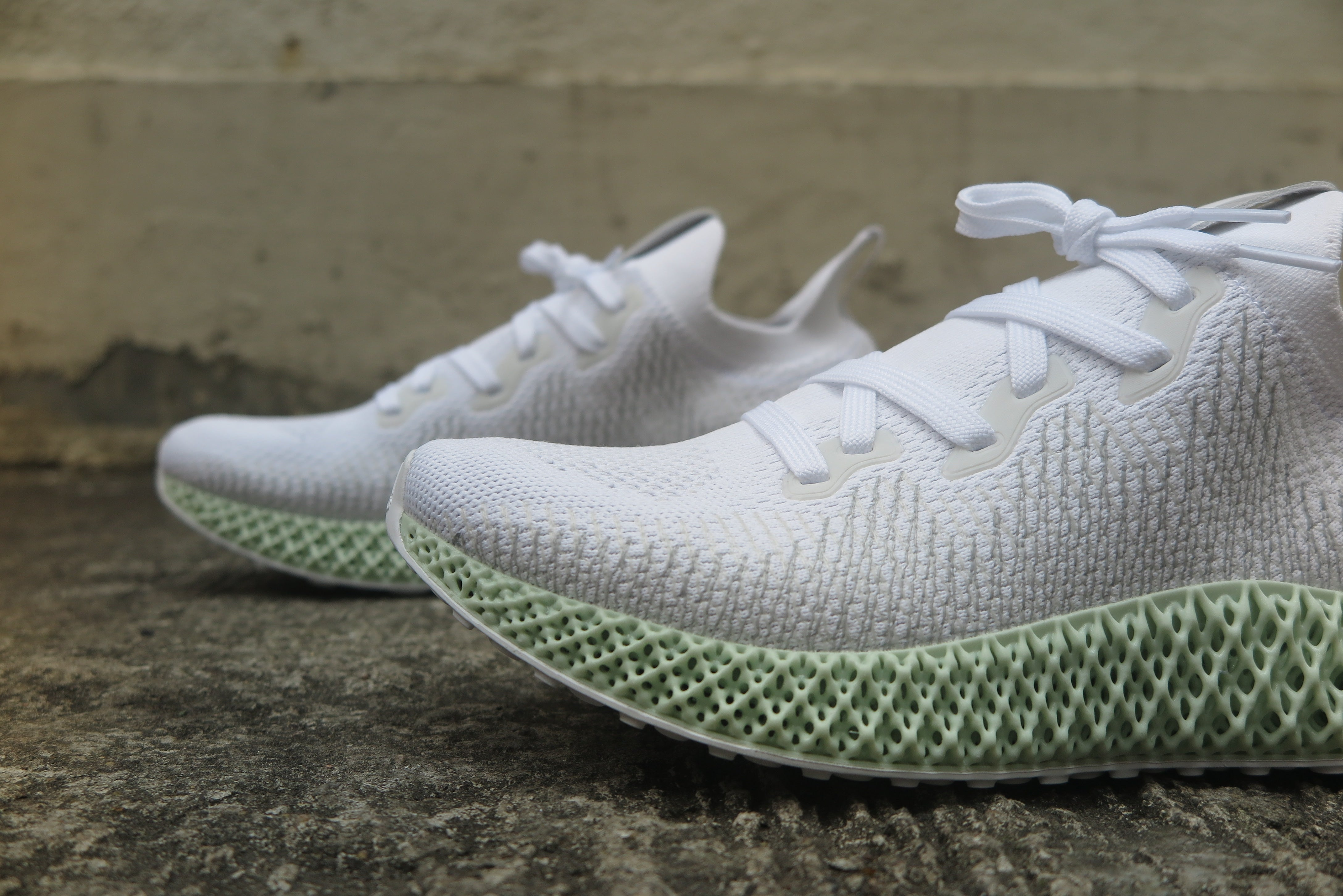 adidas Alphaedge 4D - Footwear White/Grey Two/Core Black #CG5526-Preorder Item-Navy Selected Shop