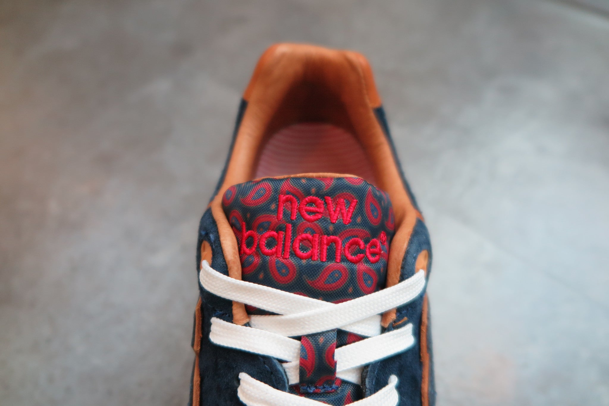 "Sneaker Politics X New Balance ML999SP ""Case 999""-Sneakers-Navy Selected Shop"