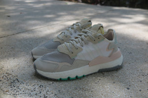 adidas WMNS Nite Jogger - Footwear White/Clear Mint/Icey Pink #EF8721-Preorder Item-Navy Selected Shop