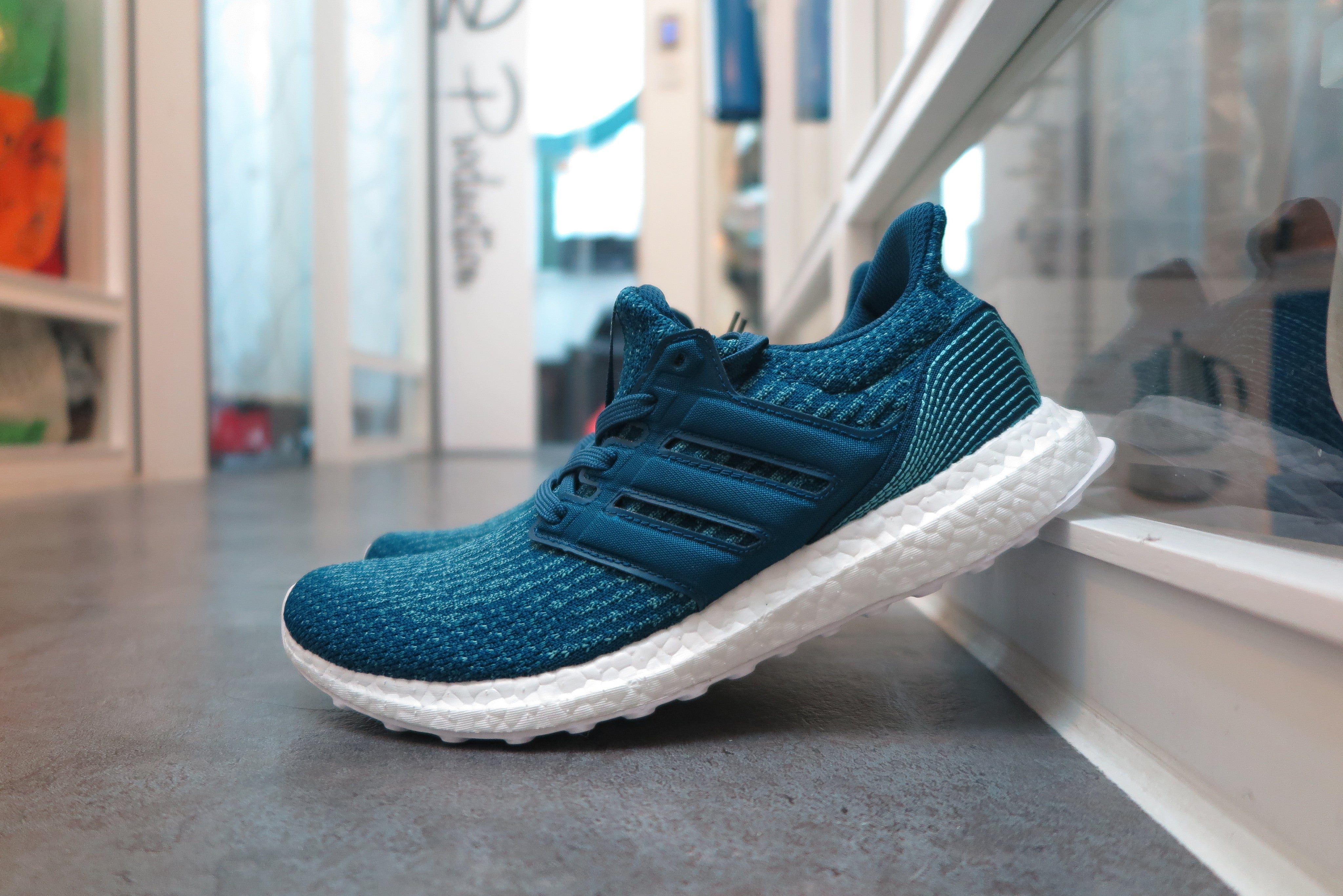 size 40 926f7 e6cb4 Parley X adidas Ultra Boost 3.0 - Coral Blue/Into Blue ...
