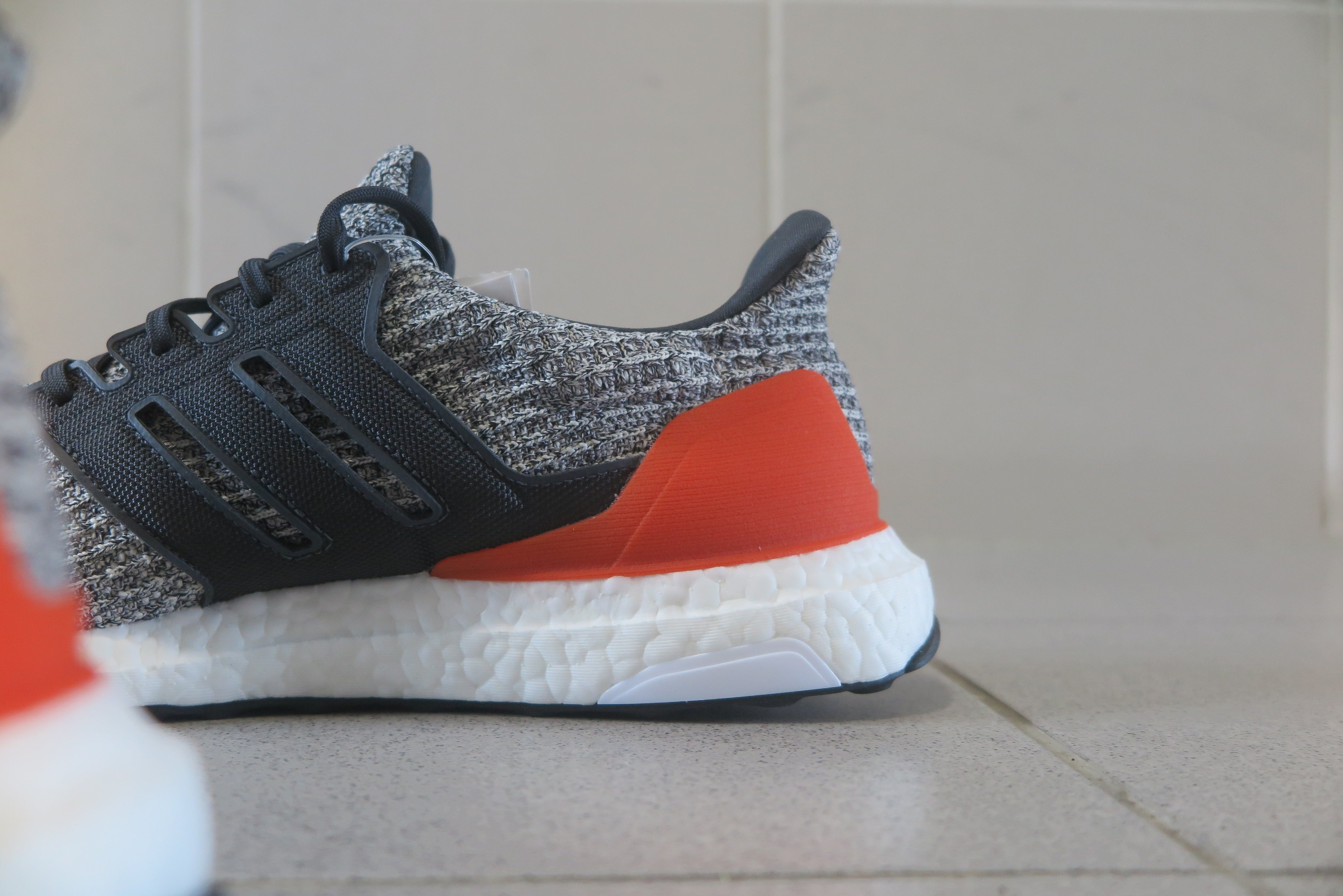 adidas Ultra Boost 4.0 - Raw White/Carbon/Active Orange #DB2834-Preorder Item-Navy Selected Shop