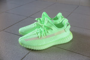 "adidas Yeezy Boost 350 V2 ""Glow In The Dark"" - Glow #EG5293-Sneakers-Navy Selected Shop"
