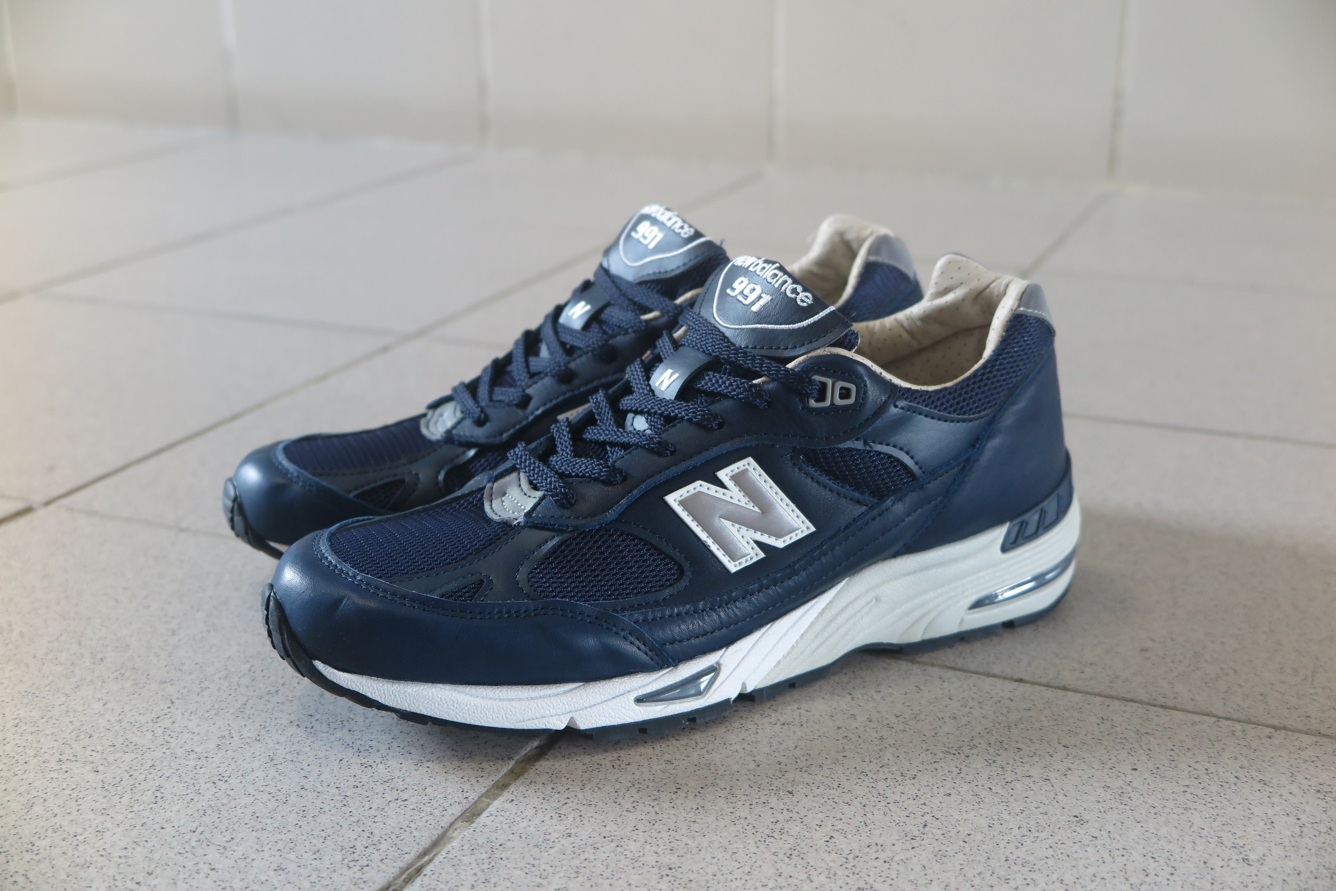 New Balance M991NNN Made in England-Preorder Item-Navy Selected Shop