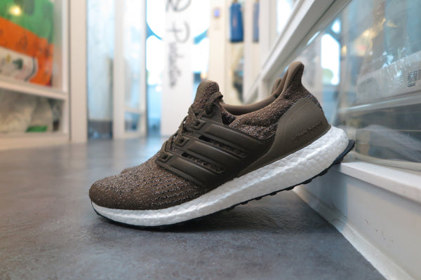 "adidas Ultra Boost 3.0 ""Real Leather Caged"" - Trace Olive/Trace Khaki #S82018-Sneakers-Navy Selected Shop"