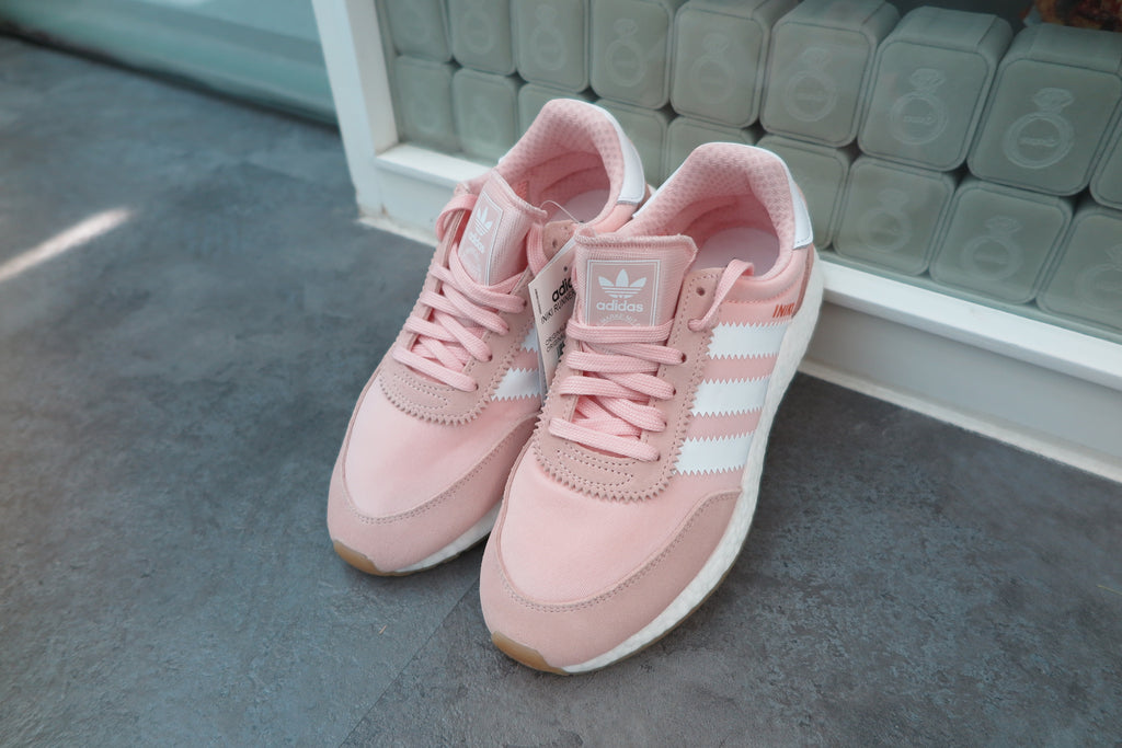 adidas WMNS Iniki Runner Boost - Ice Pink/Footwear White/Gum #BY9094-Sneakers-Navy Selected Shop