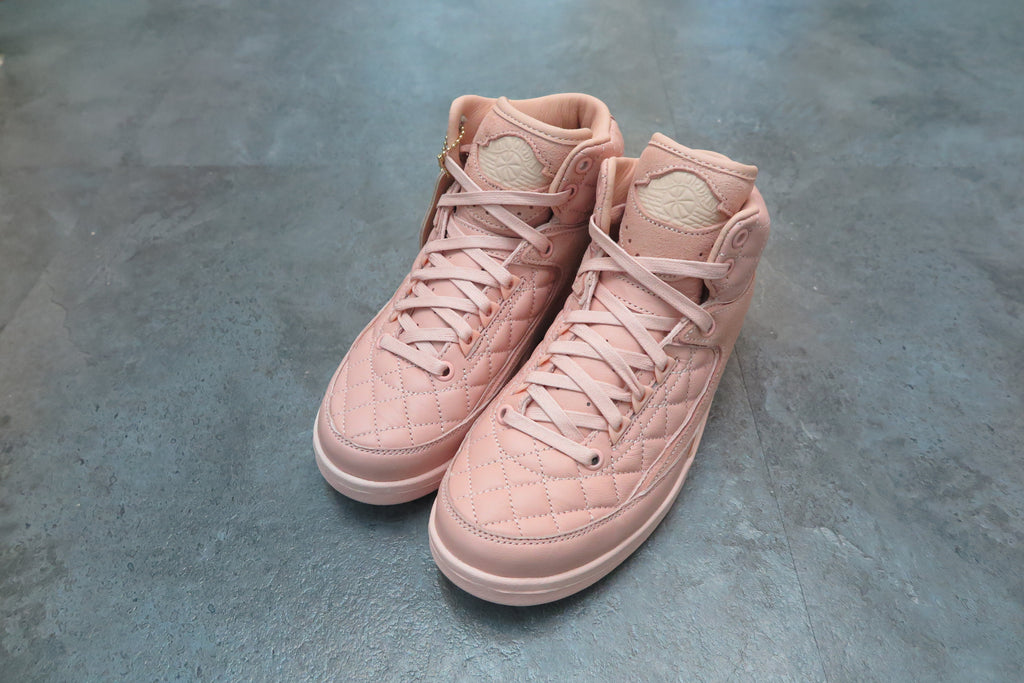 "Air Jordan 2 Retro GG ""Just Don Collaboration"" - Artic Orange #923840-805-Sneakers-Navy Selected Shop"