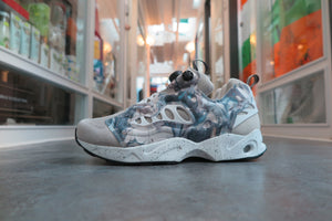 Garbstore X Reebok Instapump Fury Road in Mantara/Shady Grey/White/Grey #V65978-Sneakers-Navy Selected Shop