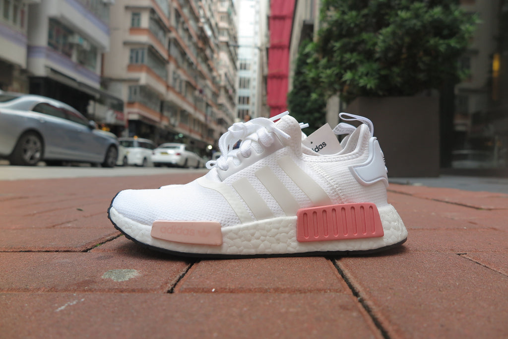 adidas WMNS NMD_R1 - Footwear White/Ice Pink #BY9952-Sneakers-Navy Selected Shop