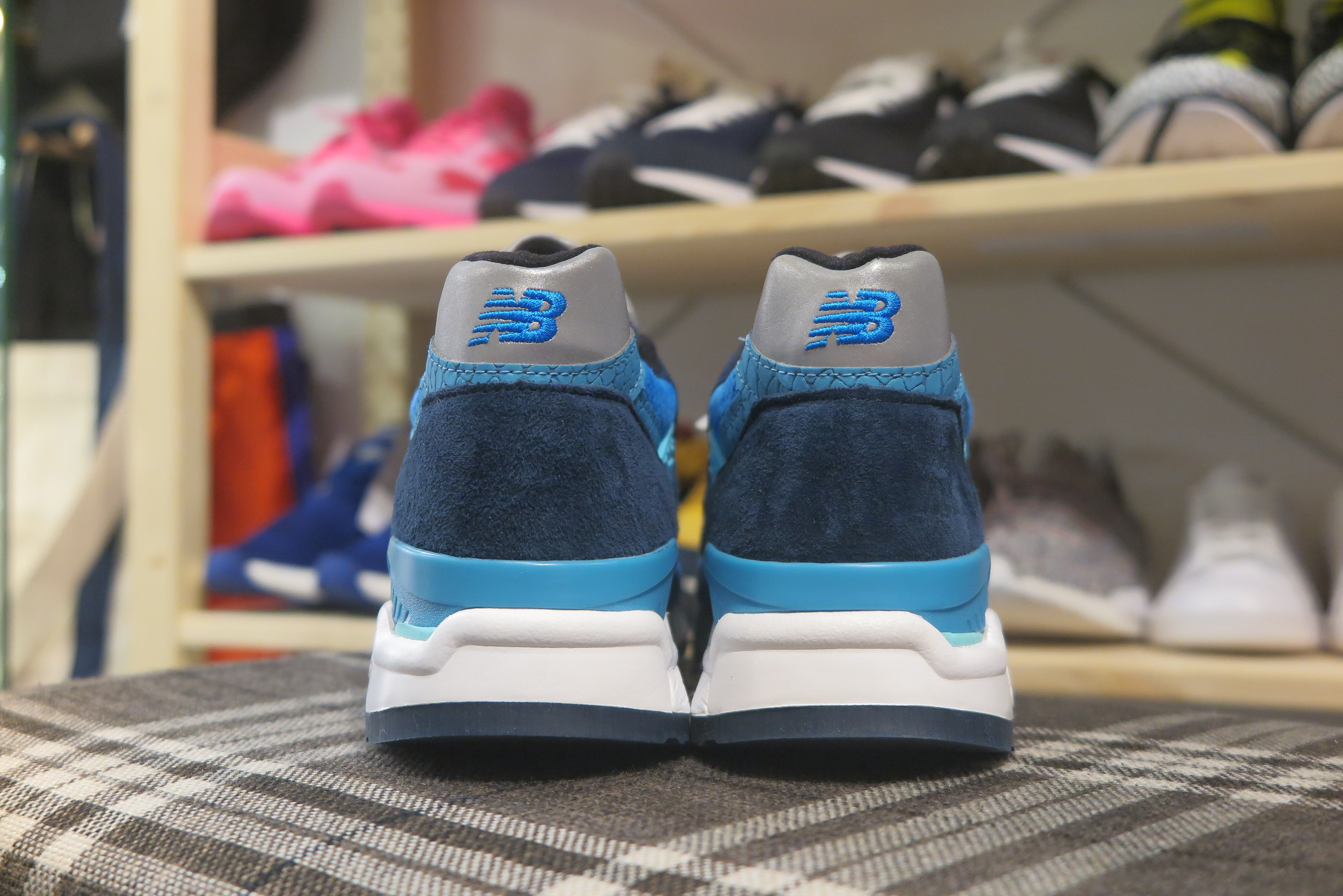 New Balance M998NE Made in USA-Preorder Item-Navy Selected Shop