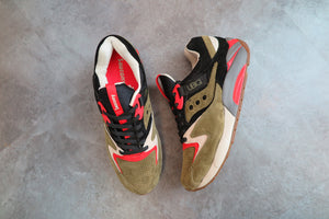"UBIQ X Saucony Grid 9000 ""Dirty Martini"" #70131-1-Sneakers-Navy Selected Shop"