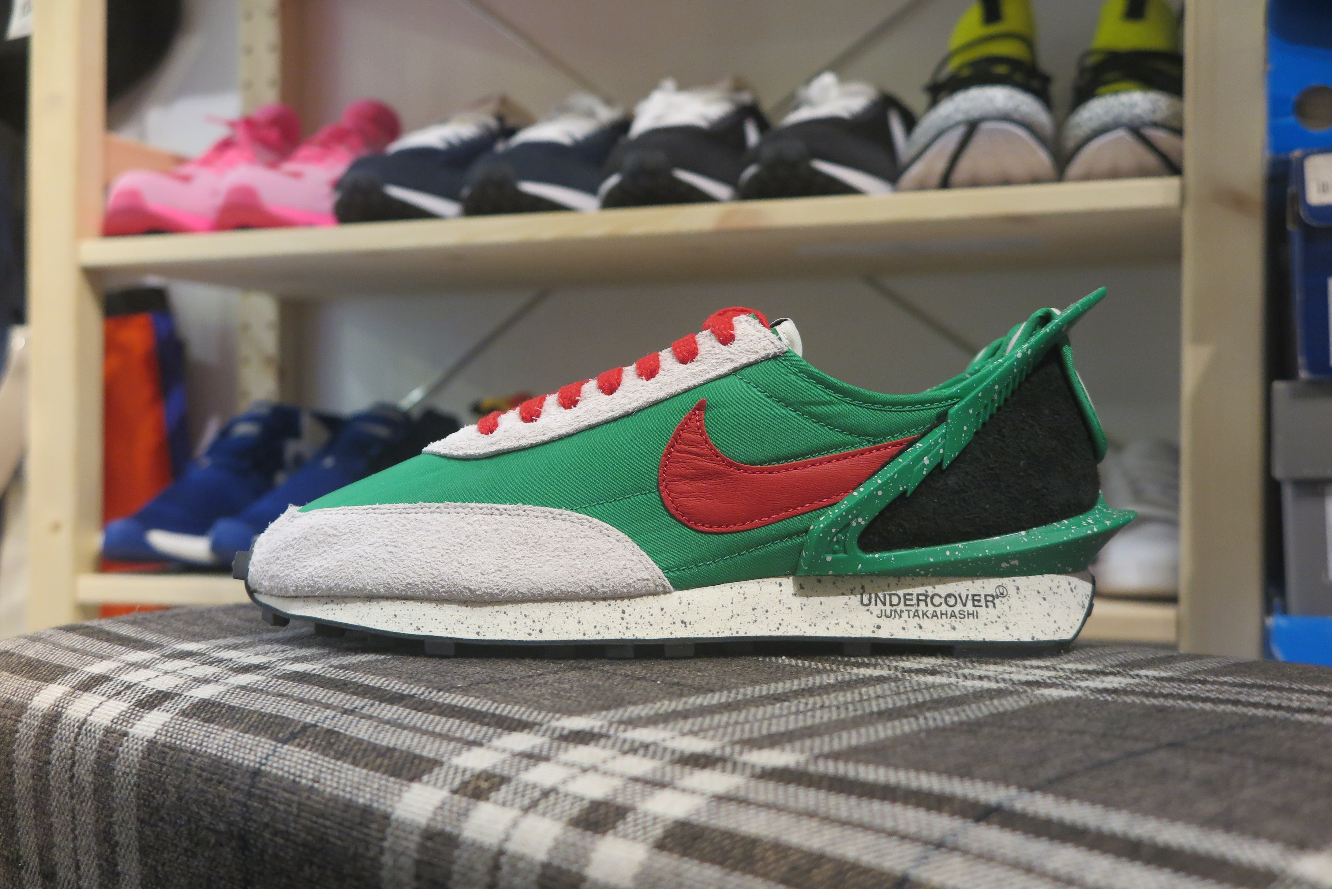 Undercover x Nike WMNS DayBreak - Lucky Green/University Red/Sail #CJ3295-300-Sneakers-Navy Selected Shop