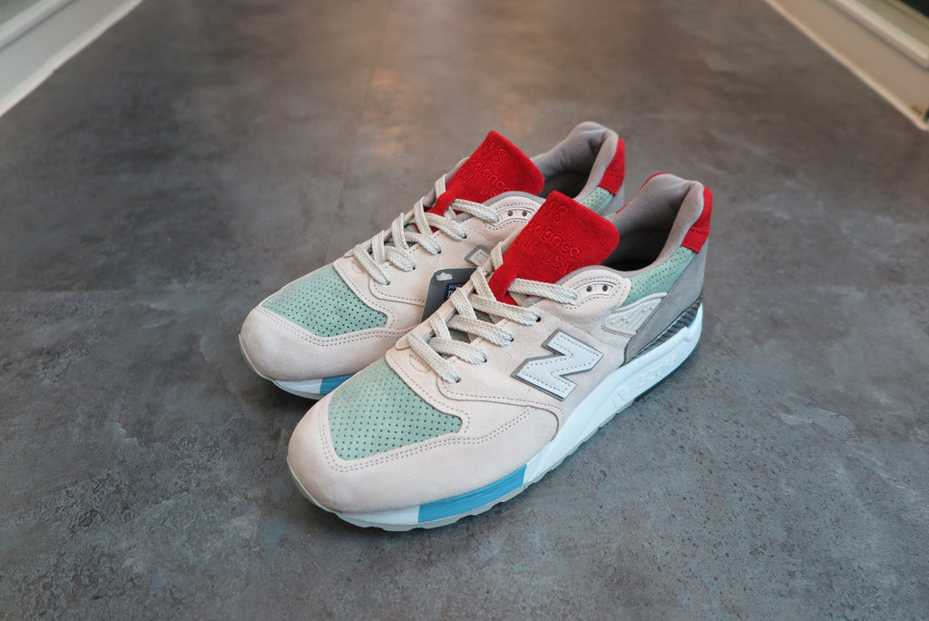 "Concepts x New Balance M998CFX ""Grand Tourer"" Made in USA - Normal Box-Sneakers-Navy Selected Shop"