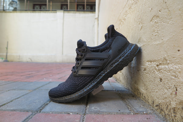 "adidas Ultra Boost 3.0 ""Triple Black"" - Core Black/Utility Black #CG3038-Sneakers-Navy Selected Shop"