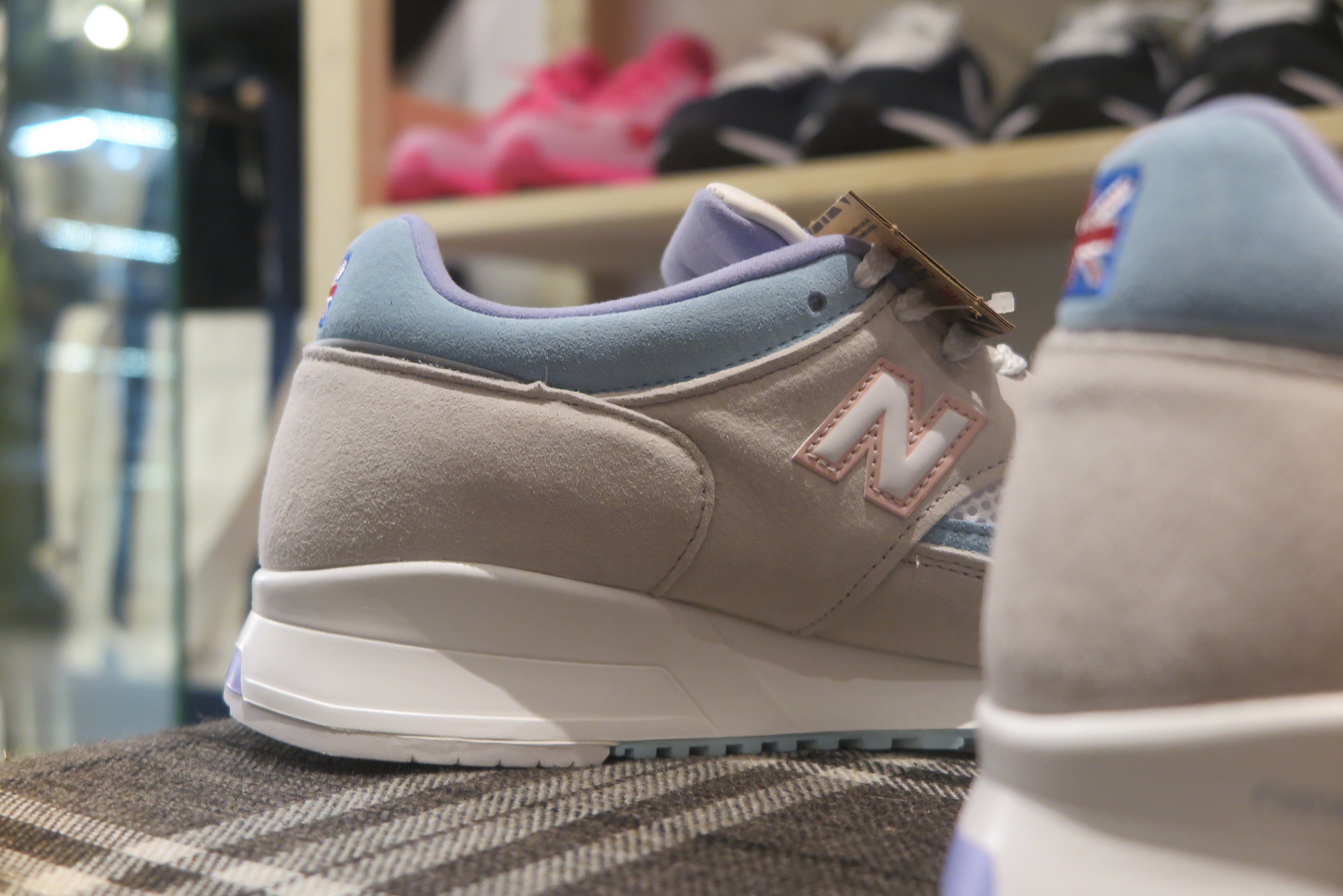 "Overkill x New Balance M1500OKL ""Berlin City of Values Pack"" Made in England-Sneakers-Navy Selected Shop"