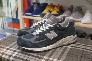 New Balance M990NV2 Made in USA-Sneakers-Navy Selected Shop