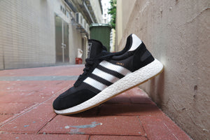 adidas I-5923(Iniki Runner Boost) - Core Black/Footwear White/Gum #BY9727-Sneakers-Navy Selected Shop