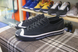 Neighborhood x Converse Jack Purcell OX - Egret/Black #165604C-Sneakers-Navy Selected Shop
