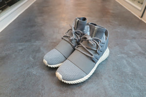 "adidas Tubular Doom Primeknit ""Reflective"" in Medium Grey/Heather Solid Grey #S74920-Sneakers-Navy Selected Shop"