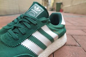 adidas I-5923(Iniki Runner Boost) - Collegiate Green/Footwear White/Gum #BY9726-Sneakers-Navy Selected Shop