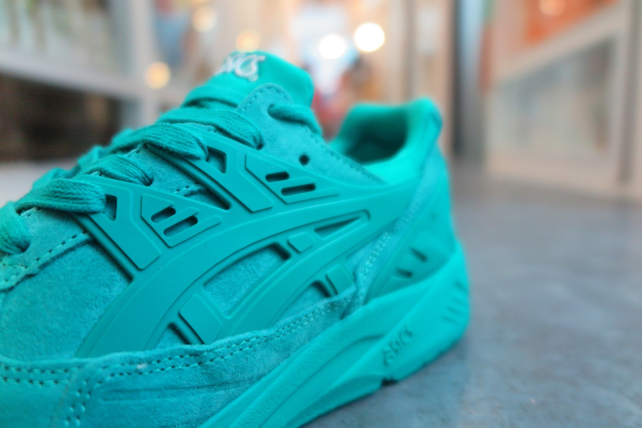 "Asics Gel Kayano Trainer ""Ocean Pack"" in Spectra Green #H6C0L-7878-Sneakers-Navy Selected Shop"