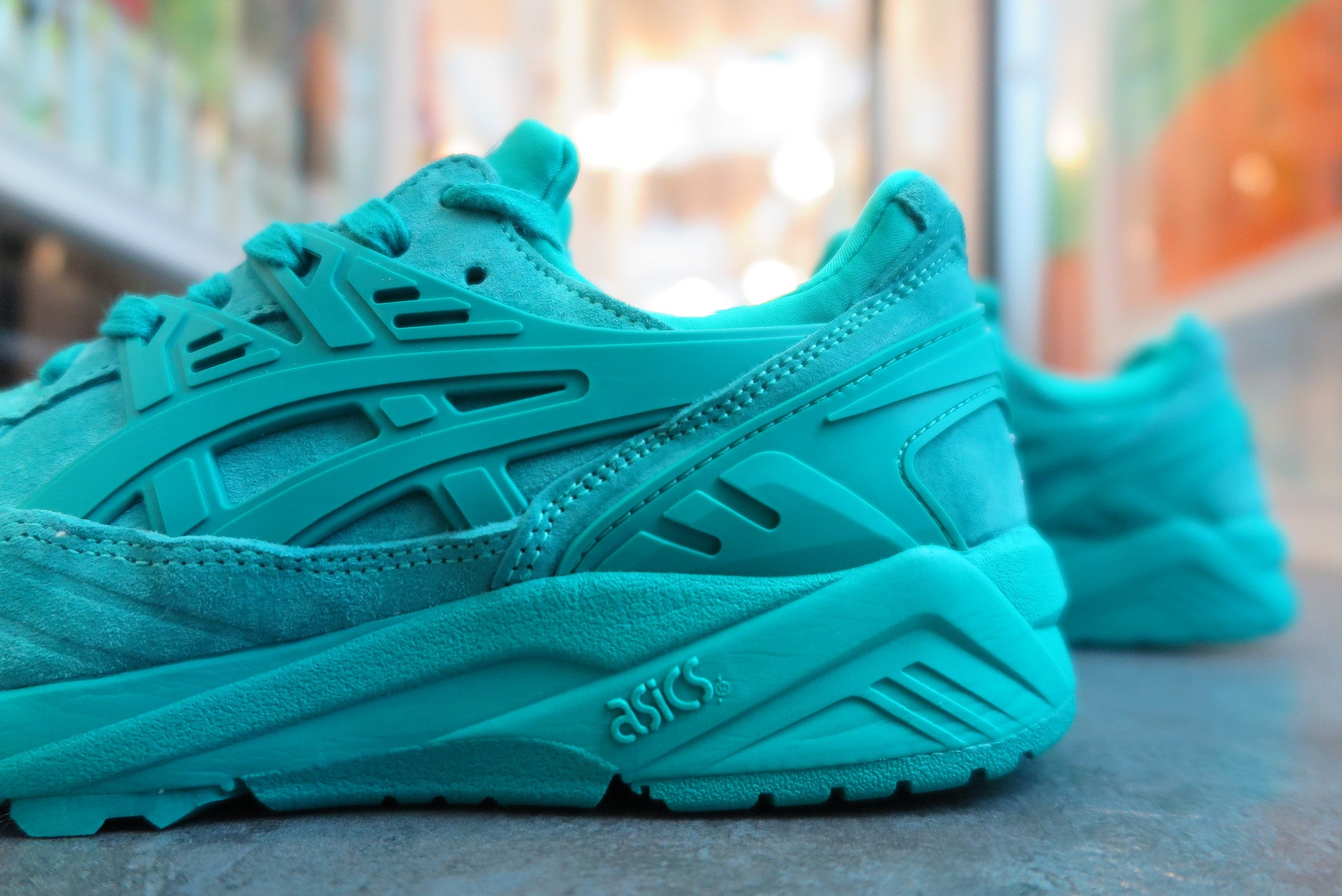 "Asics Gel Kayano Trainer ""Ocean Pack"" - Spectra Green #H6C0L-7878-Sneakers-Navy Selected Shop"