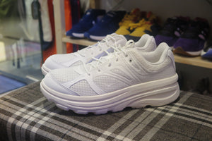 Engineered Garments x Hoka One One Bondi B - White #1107849-WHT-Sneakers-Navy Selected Shop