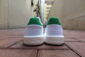adidas Stan Smith Boost Primeknit - Running White/Green #BB0013-Sneakers-Navy Selected Shop