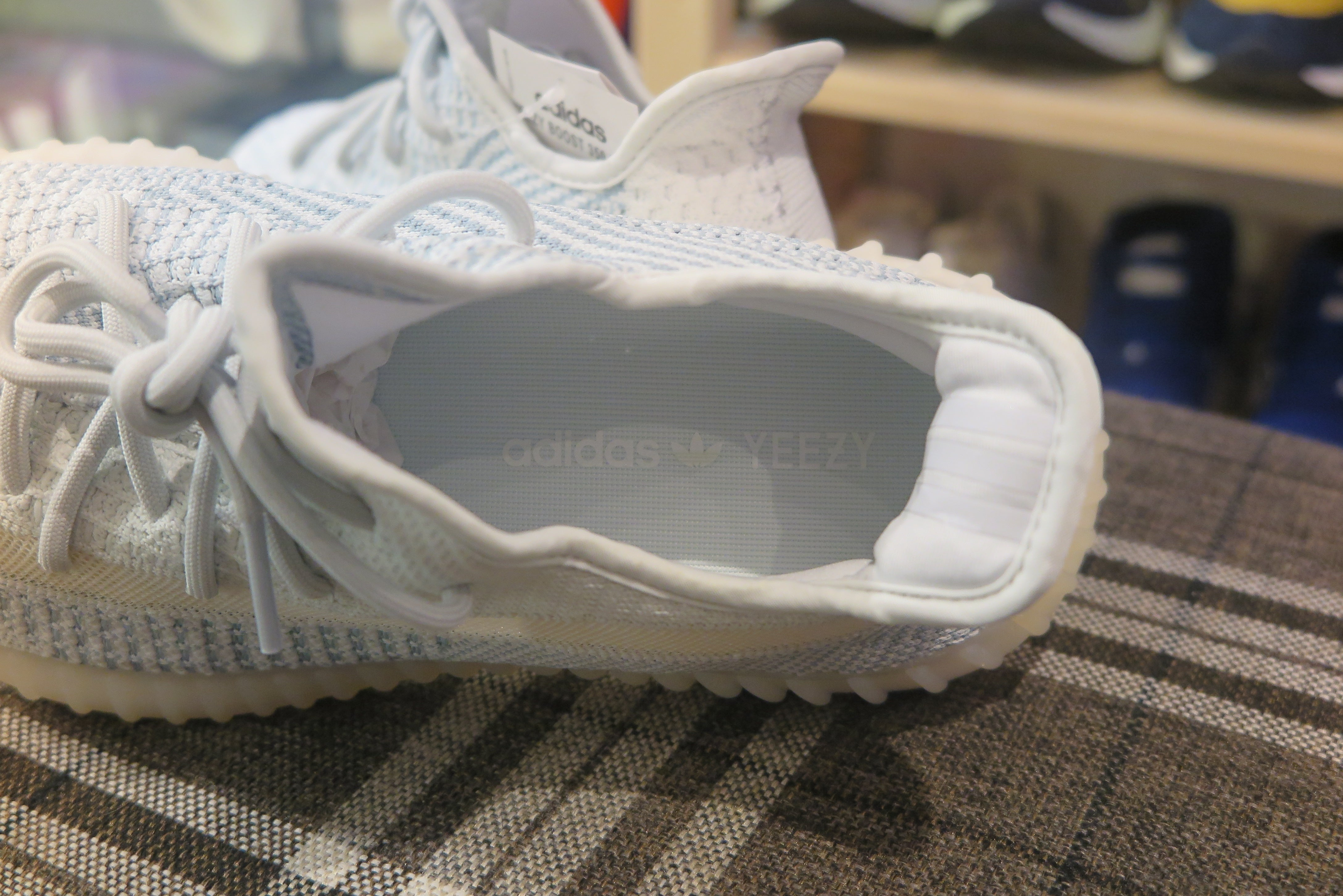 adidas Yeezy Boost 350 V2 NF - Cloud White #FW3043-Sneakers-Navy Selected Shop