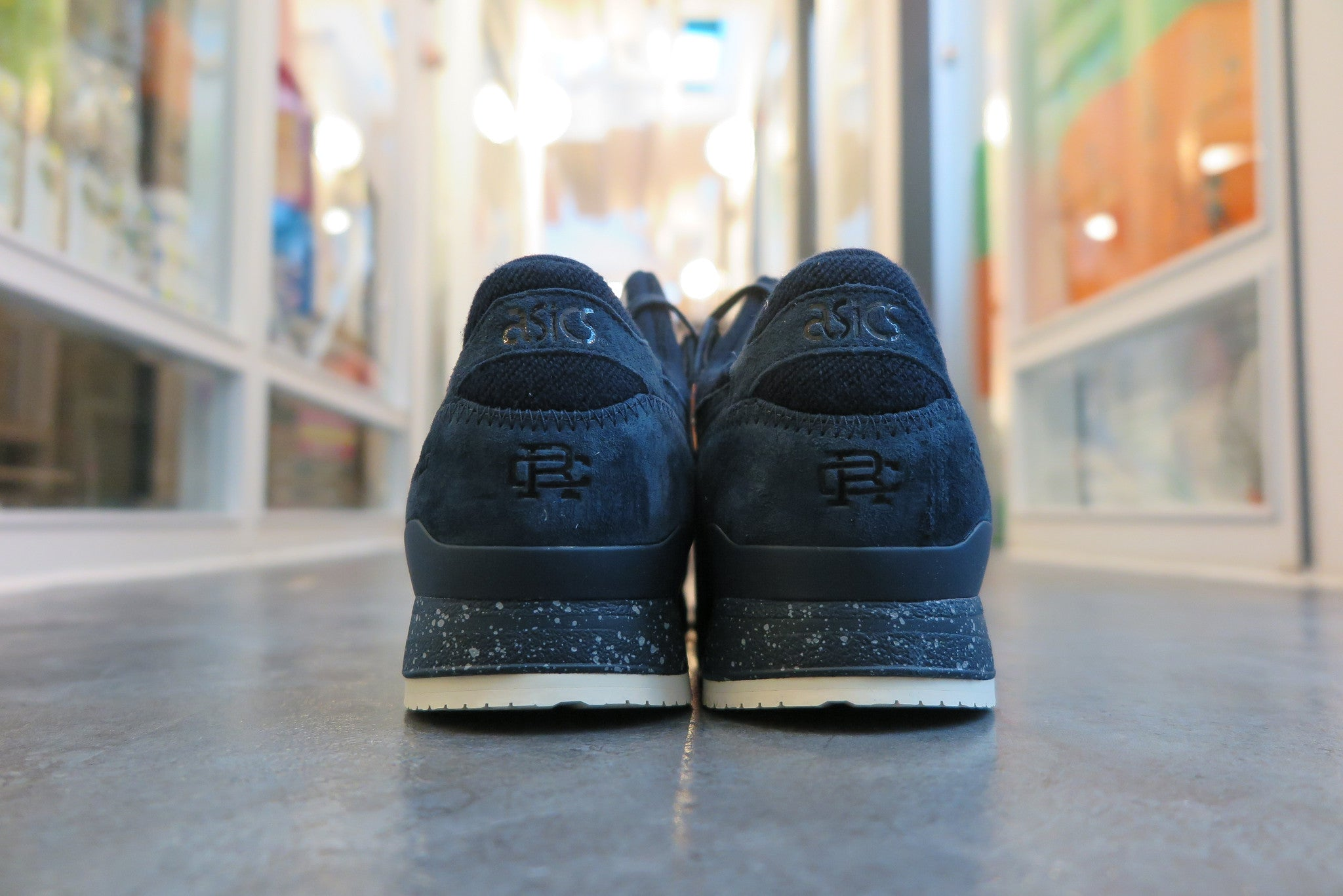 Reigning Champ X Asics Gel Lyte III in Navy #H53GK-5050-Sneakers-Navy Selected Shop