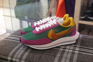 Sacai x Nike LD Waffle - Pine Green/Clay Orange/Del Sol #BV0073-301-Sneakers-Navy Selected Shop