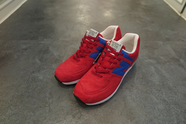 New Balance M576SBR Made in England-Sneakers-Navy Selected Shop
