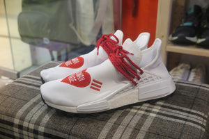 Pharrell Williams x adidas NMD Hu Human Made - White/Scarlet/Core Black #EF7223-Sneakers-Navy Selected Shop