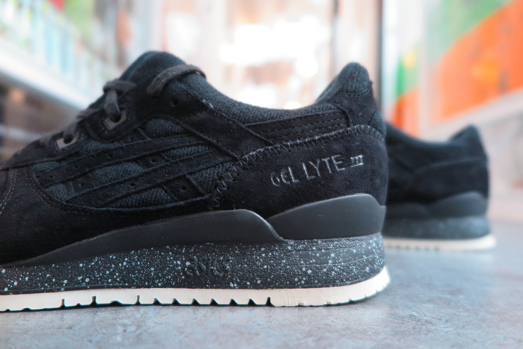 Reigning Champ X Asics Gel Lyte III - Black #H53GK-9090-Sneakers-Navy Selected Shop