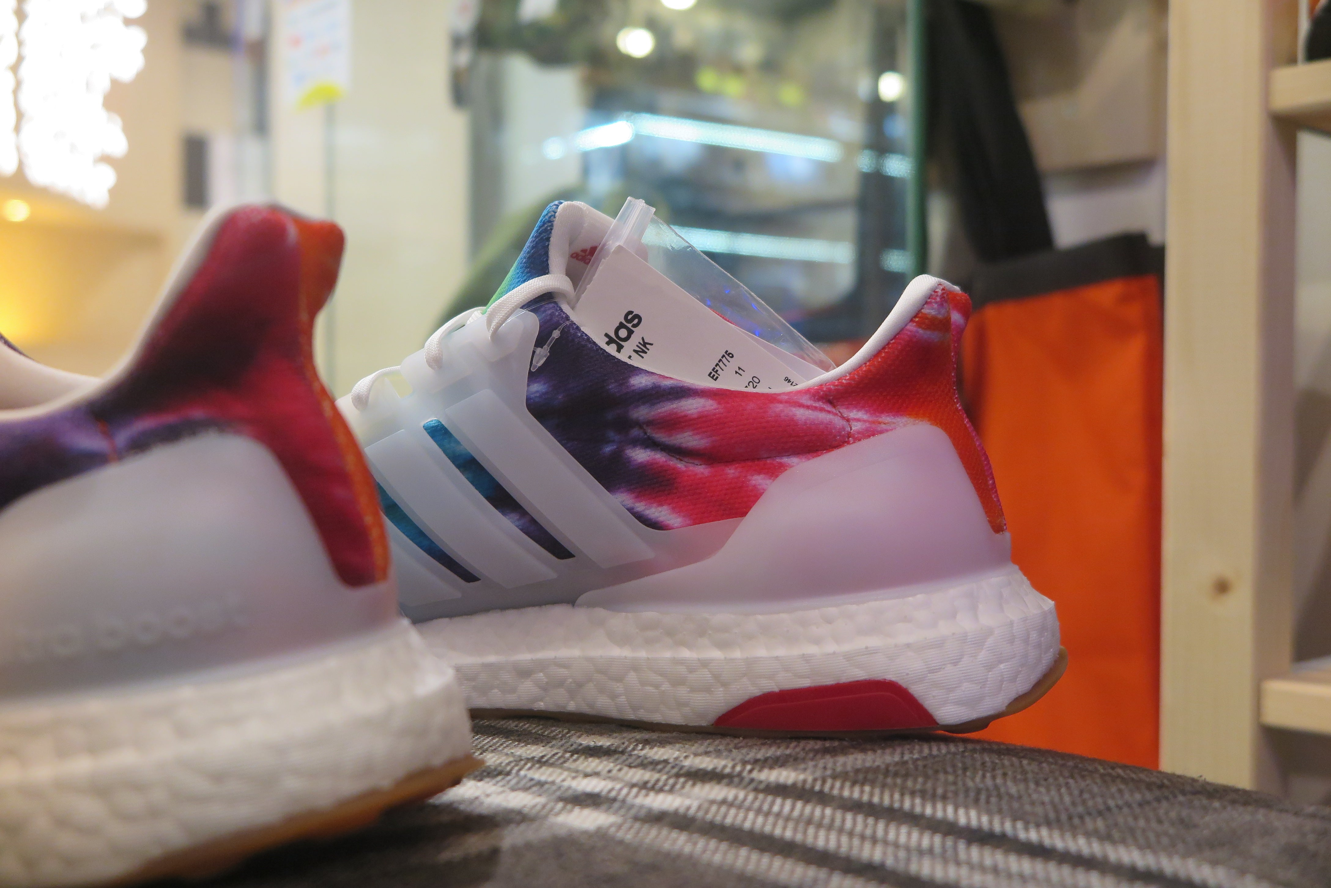 "Nice Kicks x adidas Consortium Ultra Boost ""Woodstock"" - Footwear White/Collegiate Red #EF7775-Sneakers-Navy Selected Shop"