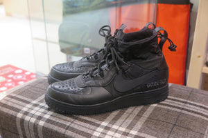Gore-Tex x Nike Air Force 1 Winter - Black/Anthracite #CQ7211-003-Sneakers-Navy Selected Shop
