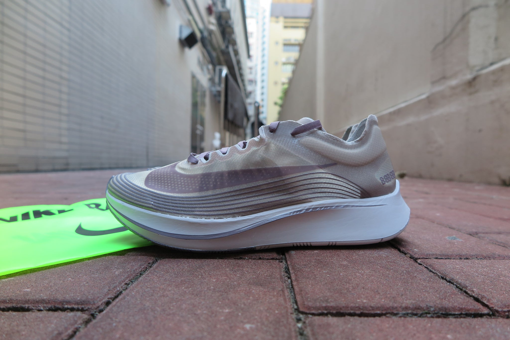 5ba1c51320e0b8 ... NikeLab Zoom Fly SP Nike Nikelab Zoom Fly SP Chicago Taupe Grey AA3172- 200 ...