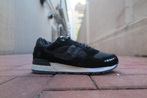 "The Good Will Out X Saucony Shadow 5000 ""VHS"" - Black/White/Multi #S70385-1-Sneakers-Navy Selected Shop"