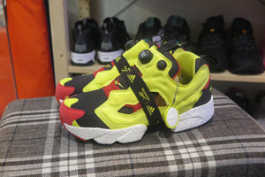 adidas x Reebok Instapump Fury BOOST - Black/Hypergreen/Reebok Red #FW5305-Sneakers-Navy Selected Shop