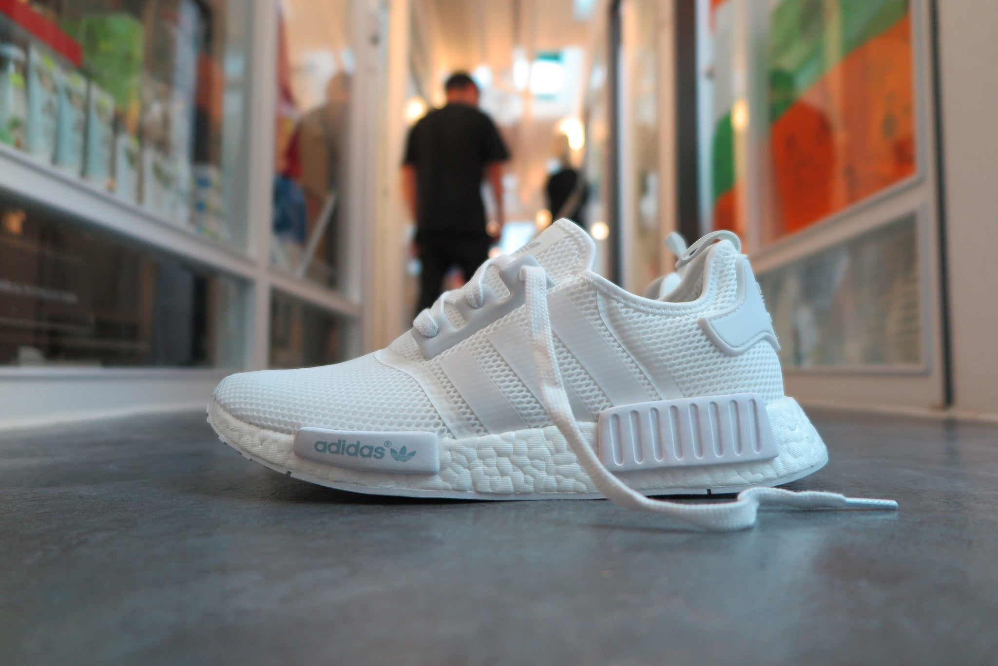 "adidas NMD_R1 ""Monochrome Pack"" - Footwear White #S79166-Sneakers-Navy Selected Shop"