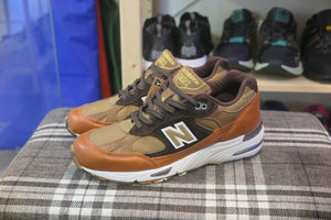 "New Balance M991SOP ""Camo Pack"" Made in England-Sneakers-Navy Selected Shop"