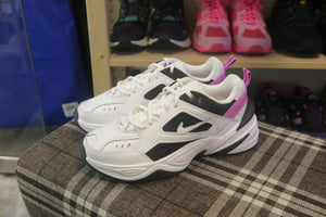 Nike WMNS M2K Tekno - White/China Rose/Black #AO3108-105-Sneakers-Navy Selected Shop