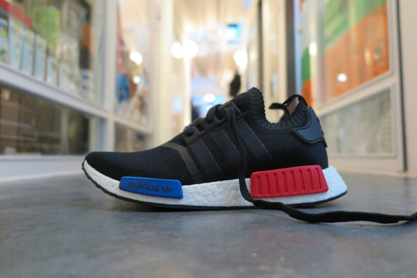 adidas NMD Runner Primeknit - Core Black #S79168-Sneakers-Navy Selected Shop