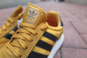 adidas Iniki Runner Boost - Tactile Yellow/Core Black/Footwear White #BY9733-Preorder Item-Navy Selected Shop