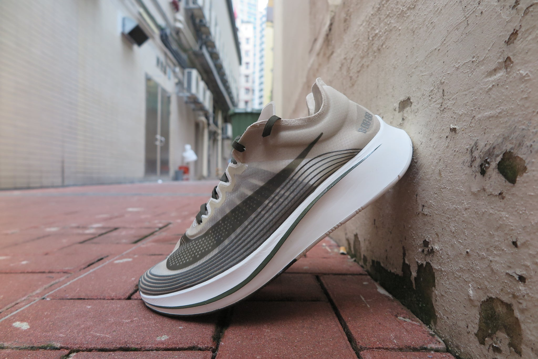 "NikeLab Zoom Fly SP ""Shang Hai"" - Dark Loden/Dark Stucco #AA3172-300-Sneakers-Navy Selected Shop"