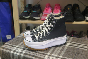 Converse Run Star Hike Hi - Black/White/Gum #166800C-Preorder Item-Navy Selected Shop