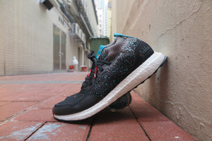 "Packer X Solebox X adidas Ultra Boost Mid ""Sneaker Exchange"" - Core Black/Energy Blue #CM7882-Preorder Item-Navy Selected Shop"