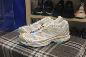 Salomon Lab XT-6 ADV - Bleached Sand/White/Meadow Brook #410865-Preorder Item-Navy Selected Shop