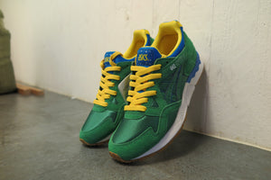 "Asics Gel Lyte V ""Brazil"" #H401N-8484-Sneakers-Navy Selected Shop"