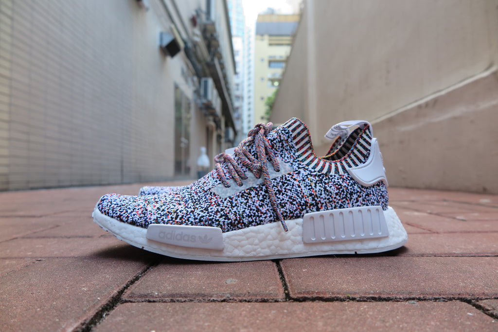 "adidas NMD_R1 Primeknit ""Color Static"" - Multicolor #BW1126-Sneakers-Navy Selected Shop"