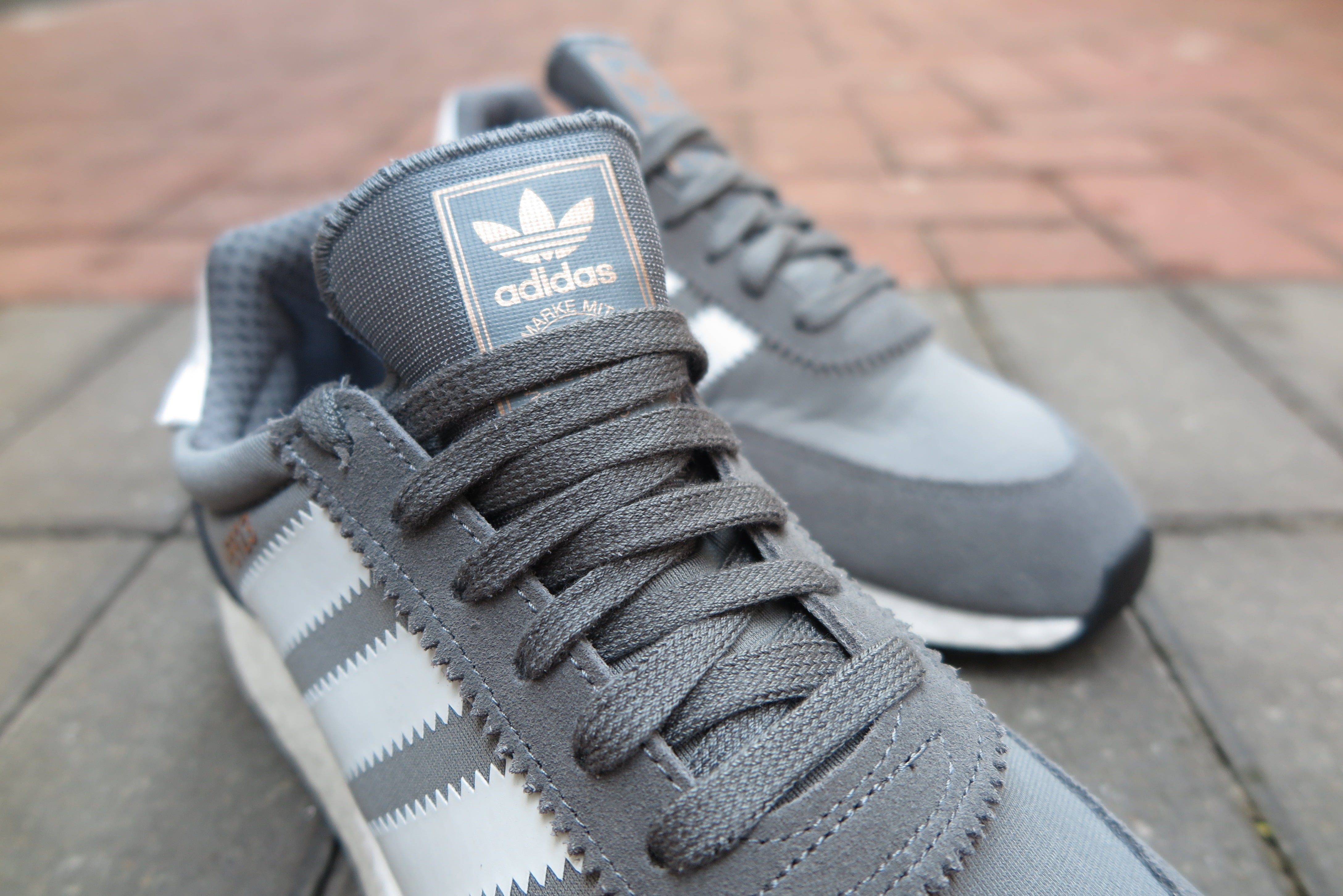 adidas I-5923(Iniki Runner Boost) - Vista Grey/Running White/Core Black #BB2089-Sneakers-Navy Selected Shop
